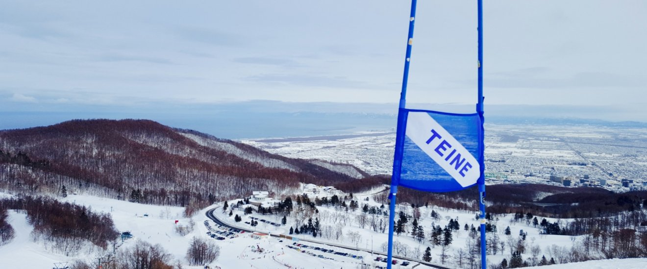 View of Sapporo and Ishikari Bay from Sapporo Teine