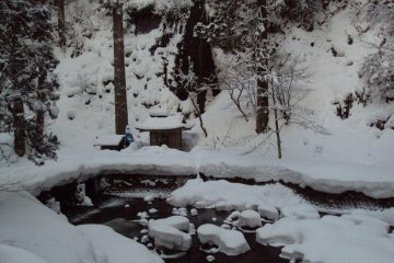 Mt. Haguro During the Winter
