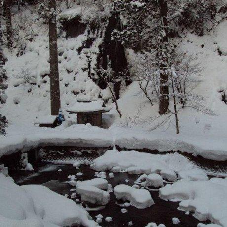 Mt. Haguro During the Winter