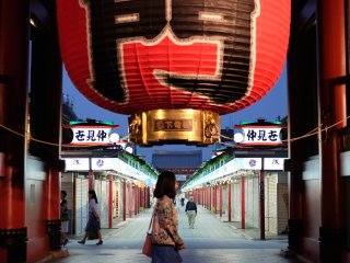 The Kaminarimon (Thunder Gate)
