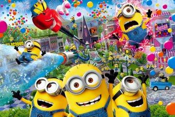Minions Theme Park Opens at USJ