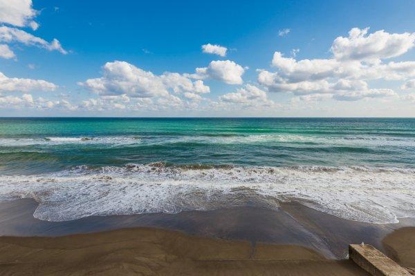 An ocean view from Kamogawa Sea World