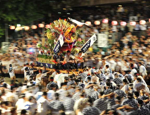 Festival Musim Panas di Fukuoka
