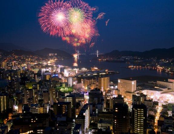 Festival Musim Panas di Nagasaki