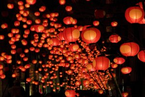 Festival Lentera Tanabata Yamaguchi