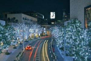 Iluminasi di Roppongi Hill