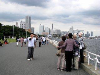 Family photo in Yokohama