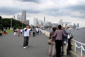 Прогулка по Йокогаме