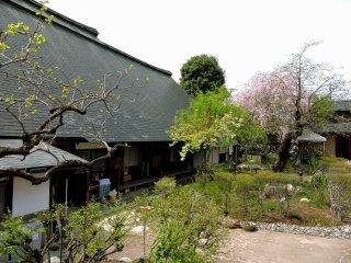 The garden of Kanzo Yashiki House