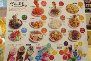 Комплекты для создания макетов еды