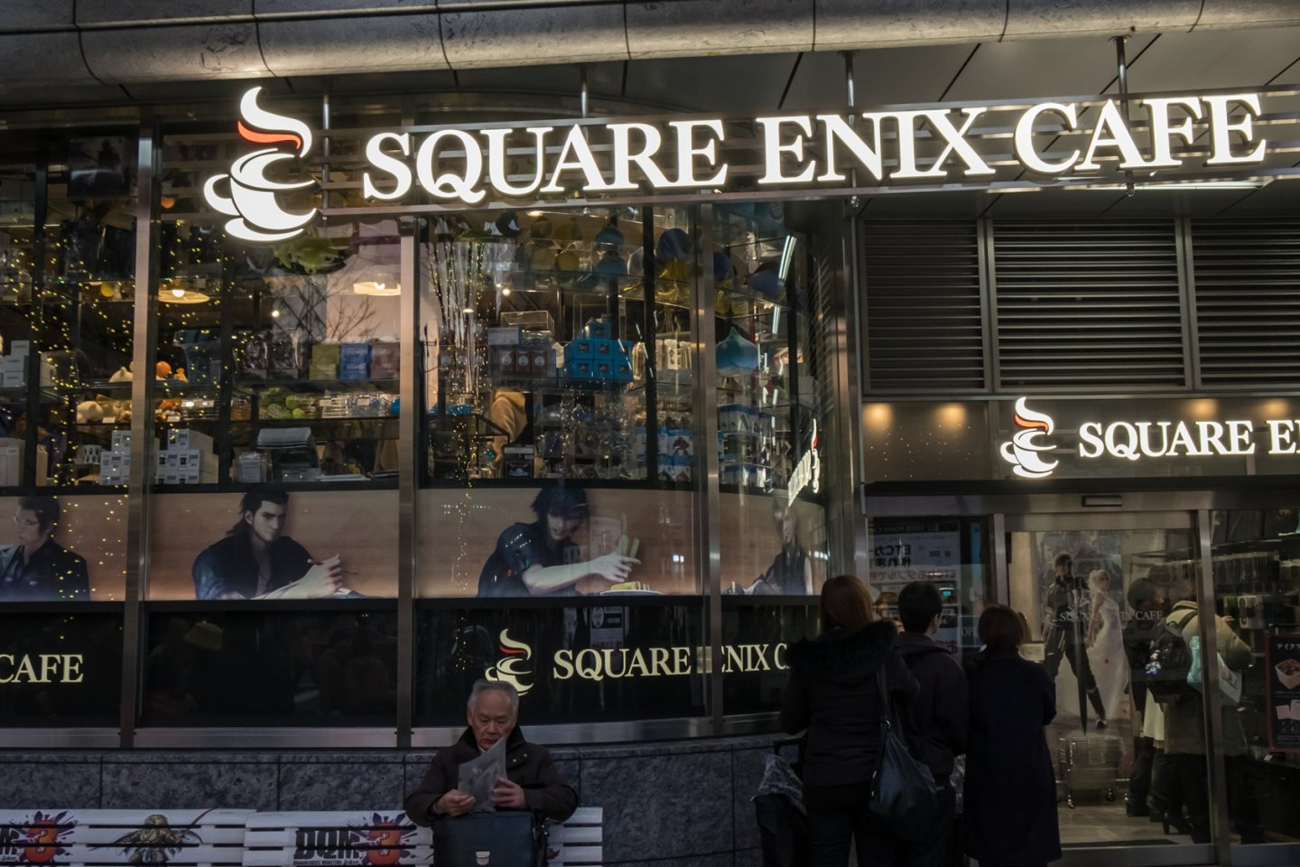 Square Enix Cafe, located on 1F of Yodobashi Akiba