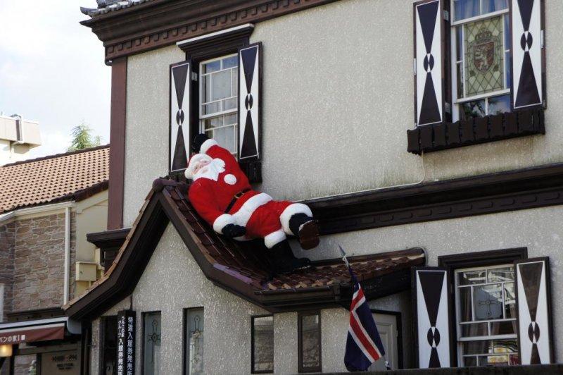 매우 편안한 산타클로스