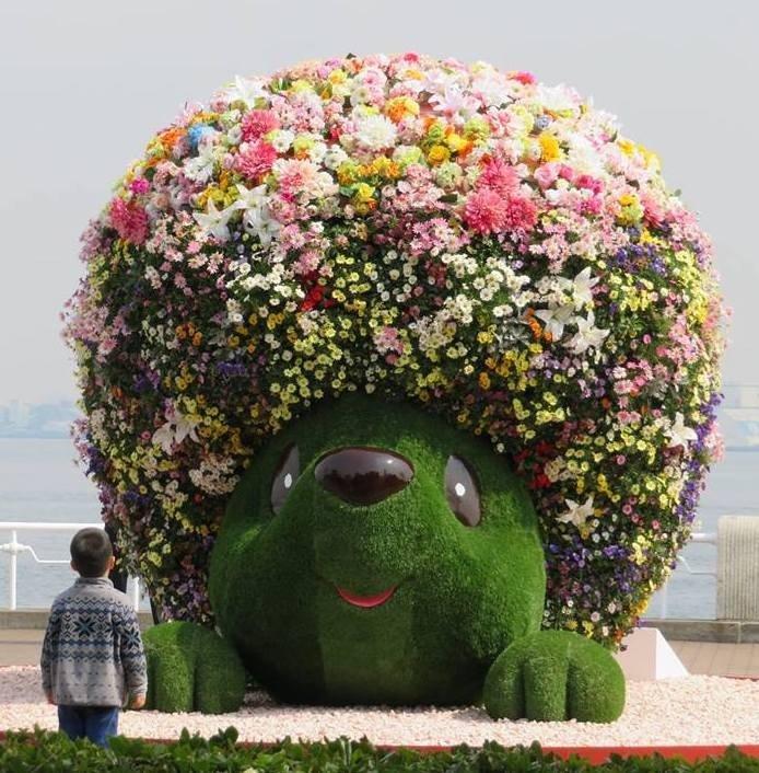 Garden Necklace Mascot at Yamashita Park