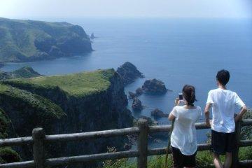 Nishinoshima Part of Oki Islands