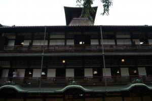 Dogo Onsen Crane