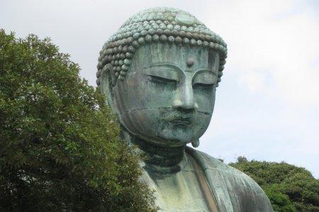 Visiting Great Buddha in Kamakura
