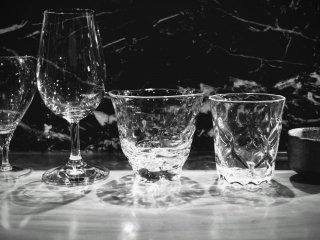 Berbagai pilihan gelas saji
