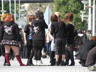 Les jeunes aiment se rencontrer au Tokyo Dome City