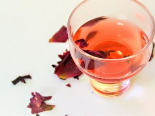 Only available in Akashi: Rose Liqueur