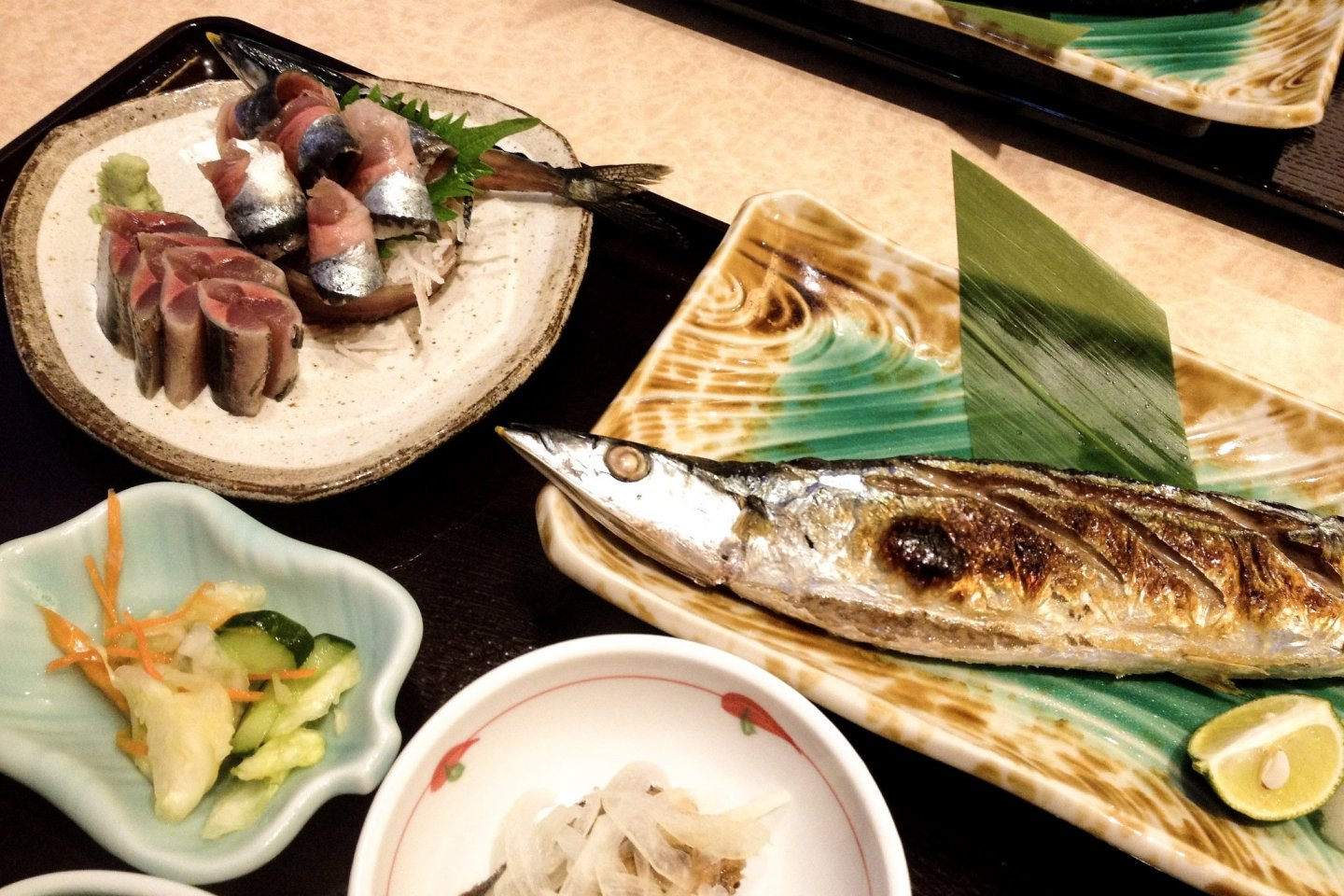 Grilled Saury is an autumn staple from Akita to Tokyo