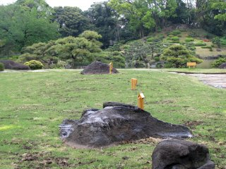 Japanese gardens have a lot of open spaces