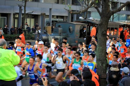 Chạy Marathon ở Ehime