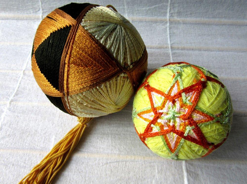 Handmade temari given to me