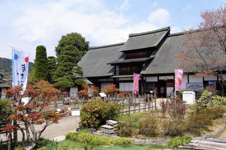 บ้านโบราณ Kanzo Yashiki ในเอ็นซาน