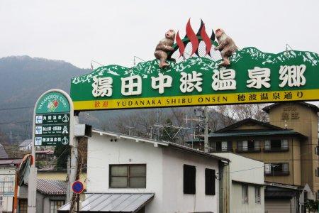 Yudanaka Shibu Onsen