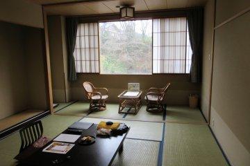 Традиционная комната с татами