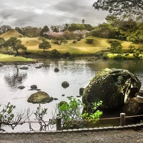 Kyushu's Suizenji Gardens