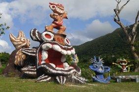 Les Sculptures de Shisa à Ishigaki