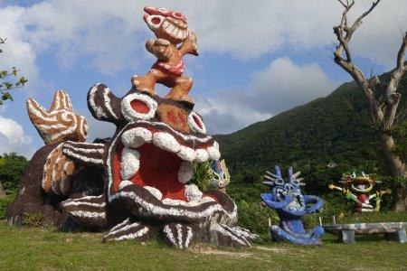 Shisa ảo diệu trên đảo Ishigaki