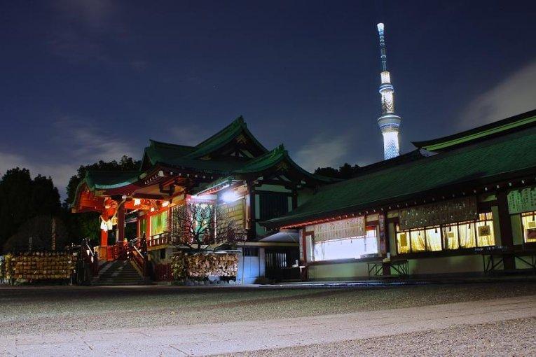 Đền Kameido Tenjin