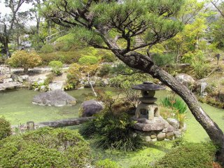 The view of Yoshiken garden