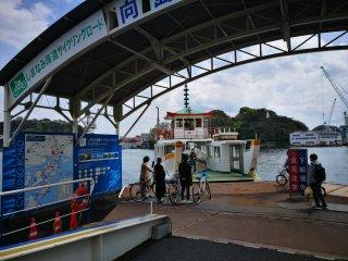 ท่าขึ้นเรือ Onomichi Port
