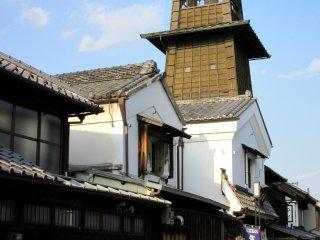 Bell Tower is the landmark of Kawagoe