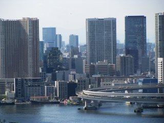 Modern buildings of Tokyo