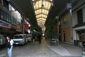 Shopping in Tsu, the city has many covered shopping malls