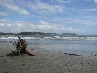 Kamakura's beach