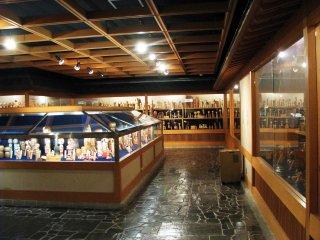 박물관은 넓고, 정보가 많습니다.