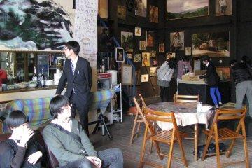 Встреча молодых художников