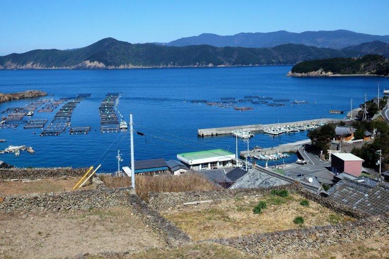 Сотодомари Исикаги-но-сато в Эхимэ