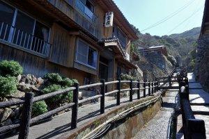 Sotodomari's 'main street'