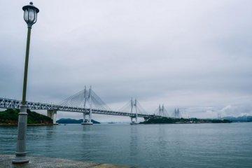히쓰이시섬과 세토오하시 경치