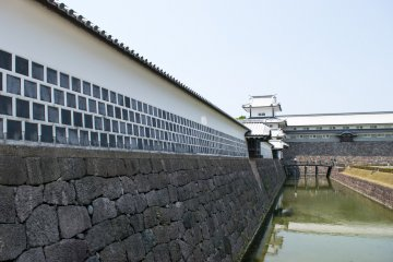 Kanazawa Castle today, restored to its 1809 form in 2001.
