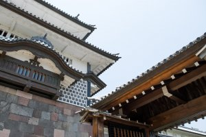 Kanazawa Castle acts as a prime example of the iconic architecture adopted by samurai leaders.