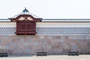 Kanazawa Castle.