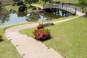 Kanazawa Castle park boasts peaceful park land, great vistas, and beautiful gardens.