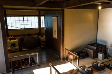 A number of well-preserved foot-soldier houses can be found in the Nagamachi district of Kanazawa.
